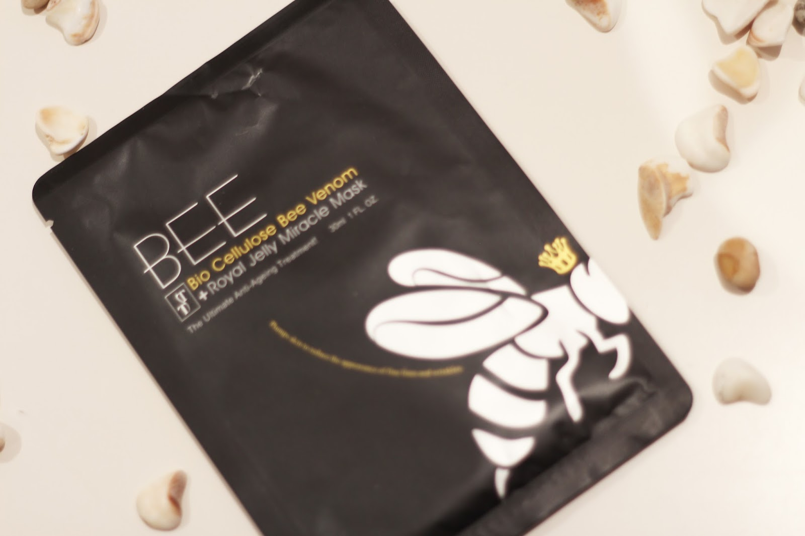 timelesstruth sheet mask bee venom
