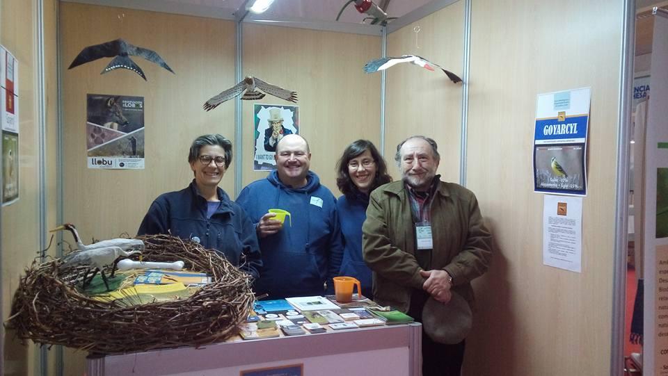 AT FIO birdfair Extremadura