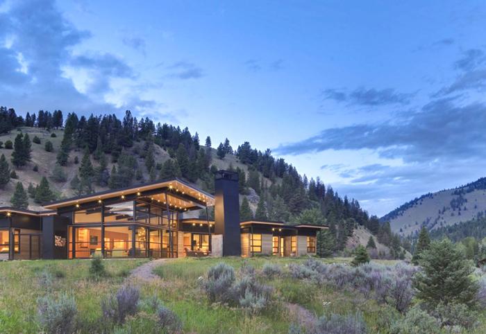 Casas minimalistas y modernas minimalismo en la montana for Casa moderna en la montana