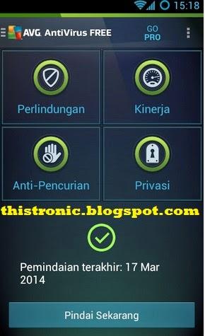 Download Aplikasi Untuk Android Free AVG Mobile Anti Virus Di jamin