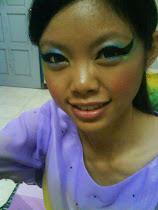 Make Up For Peacock Dance