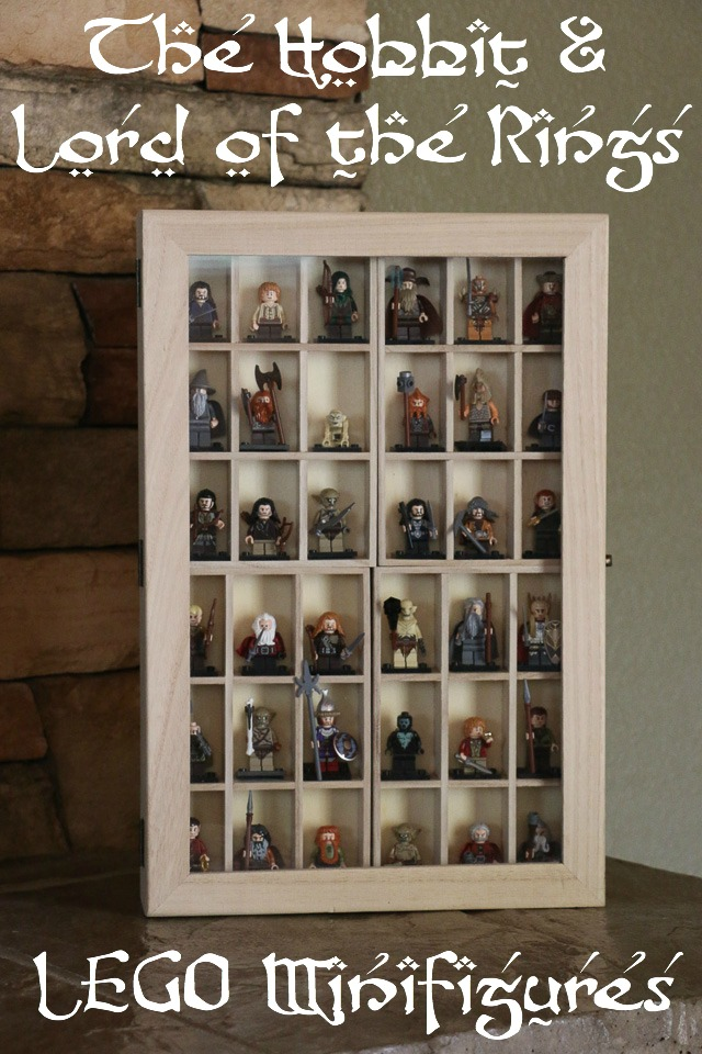 Hobbit and Lord of the Rings LEGO Minifigures :: The Boys' Storage and  Display Case