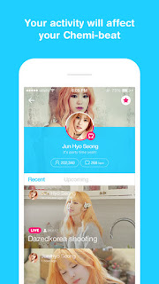 LINE messaging app maker NAVER launches celeb broadcasting app V for Android and iPhone