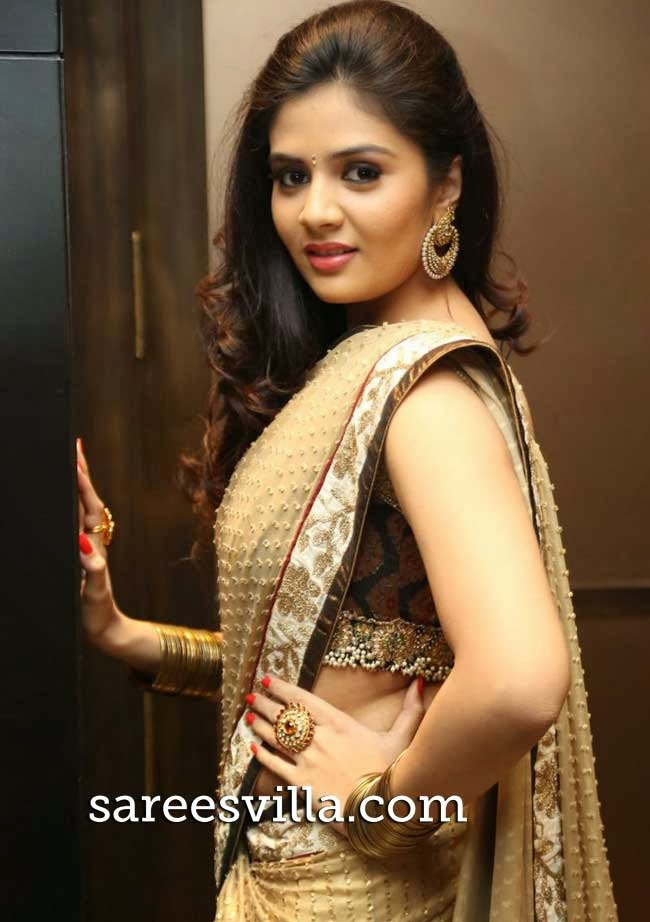 Sri Mukhi at Tasyaah Awareness Fashion Walk Event