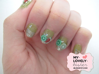 My Lovely Sister ♥ a blog with love: Fresh Fruit Nail Art