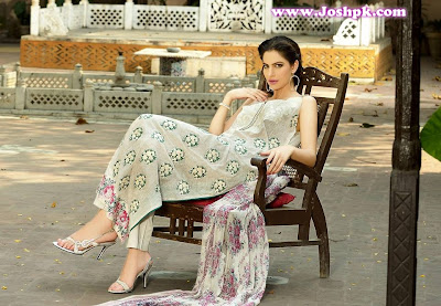 Khaadi Khas New Unstitched Embroidered Eid Collection 2013-14