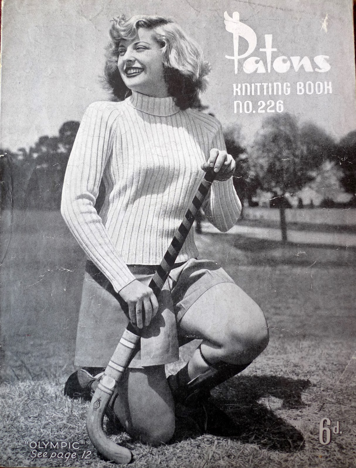 Vintage Knitting Books : Vintage knitting book little jenny wren