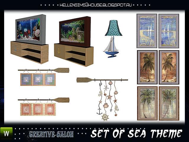 Sea Themed Set by Hellen