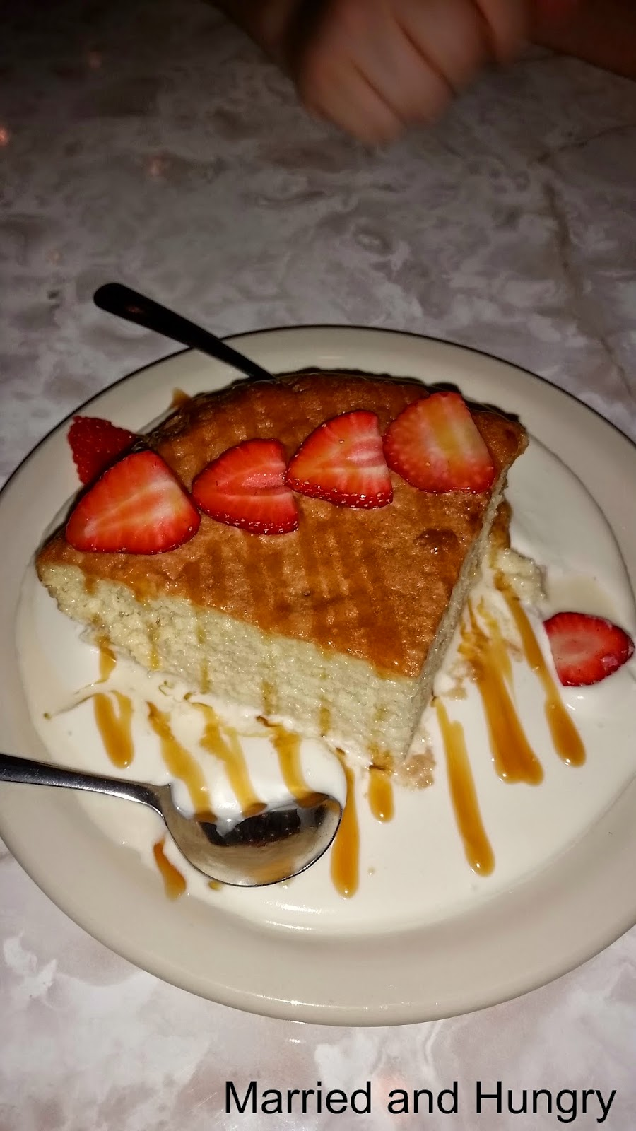 Tres Leches Cake from Chuy's. Pure goodness!!!