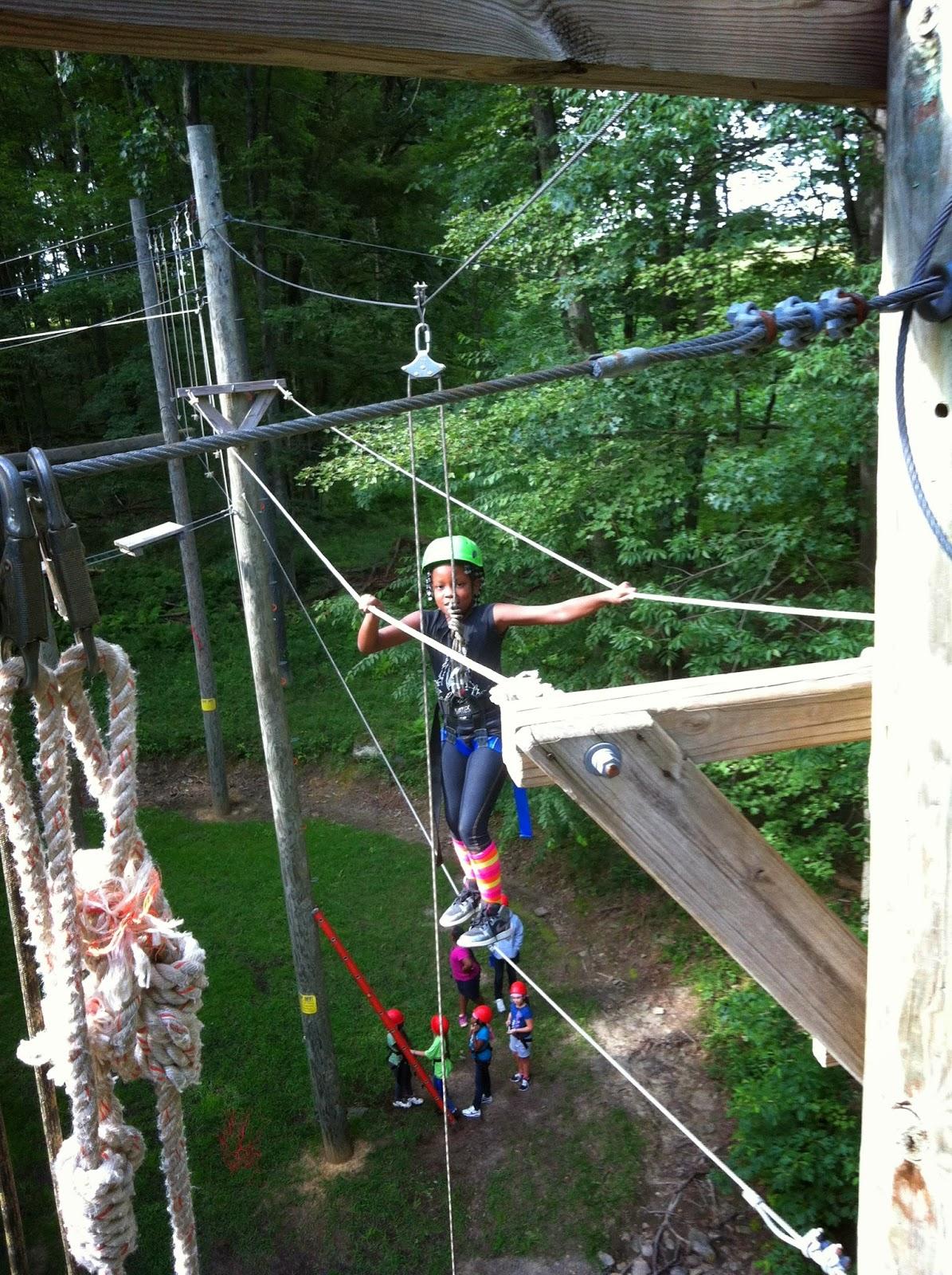 Girl Scouts Western Pennsylvania Find High Adventure Fun