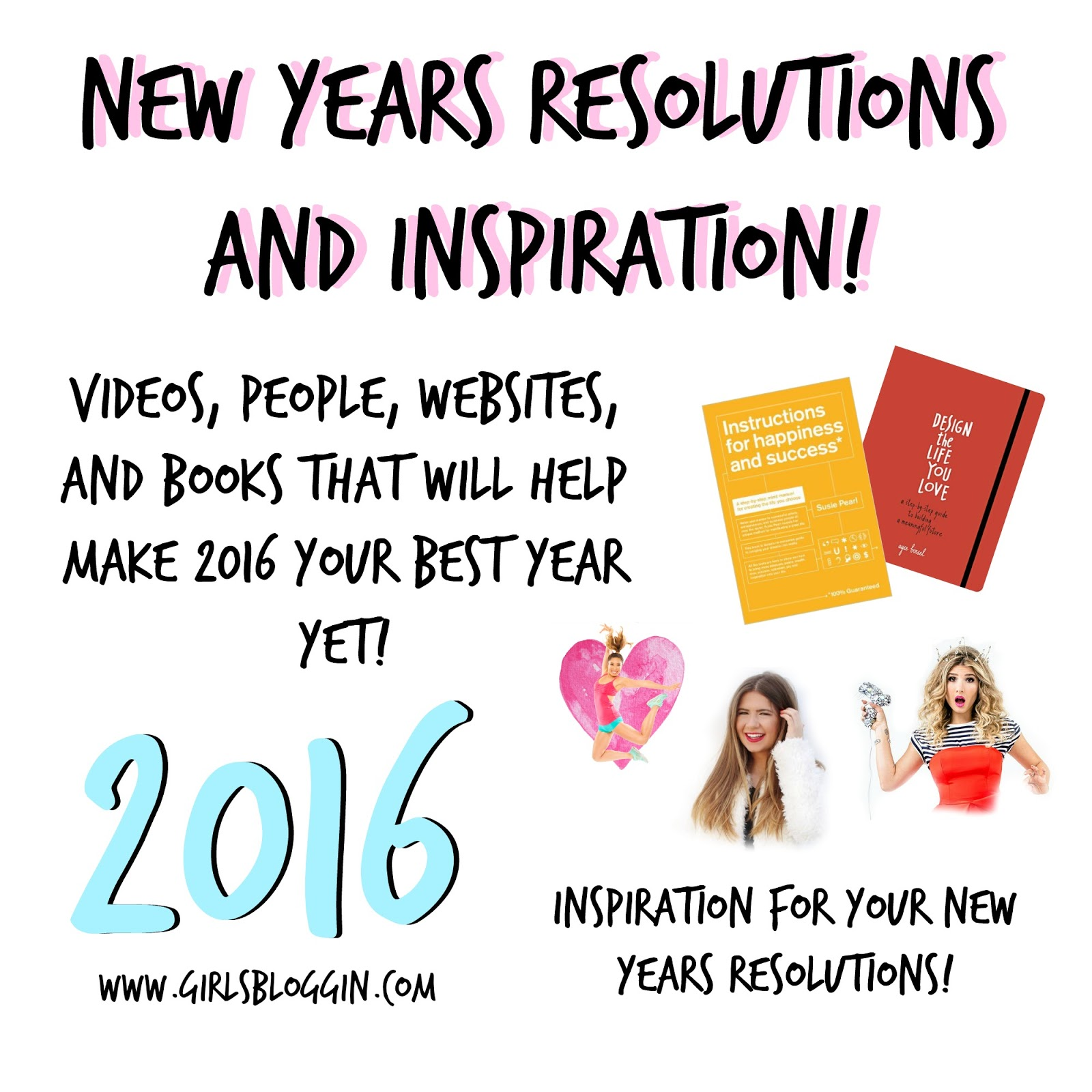 Girl\'s blog: New Years Inspiration and Resolutions!