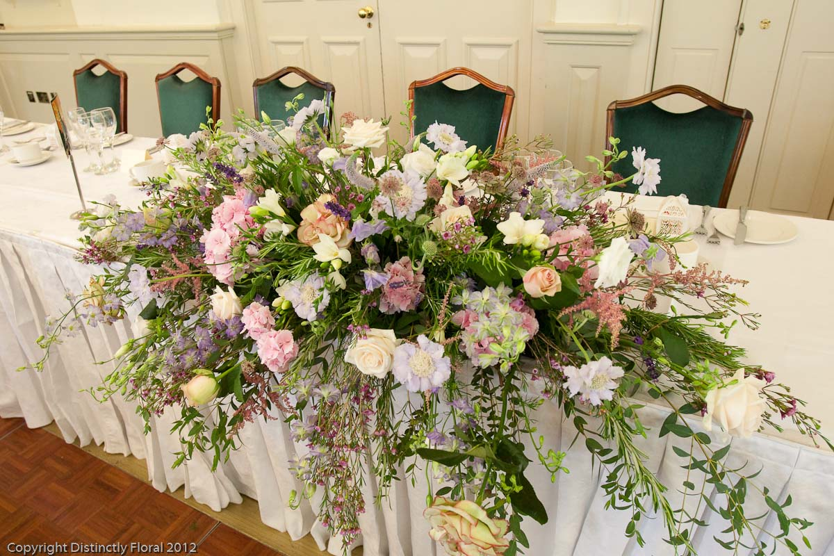 Distinctly Floral Vicky And Nigels Wedding At Turkey Mill