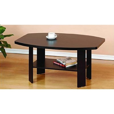 Furinno simple design coffee table espresso for Simple table design html