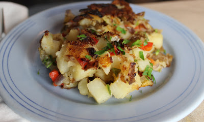 Crispy Simple Potato Hash