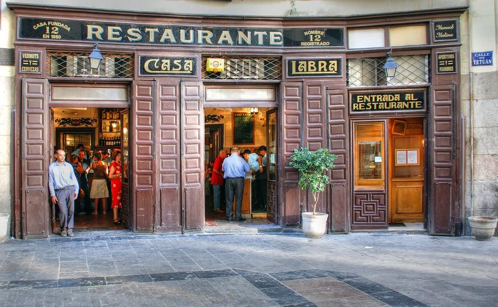 "Restaurante ""Casa Labra"""