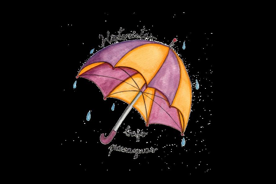 Historietas bajo paraguas