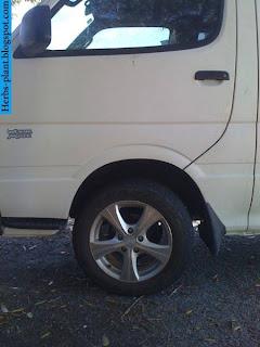 Toyota hiace car 2013 tyres/wheels - صور اطارات سيارة تويوتا هايس 2013