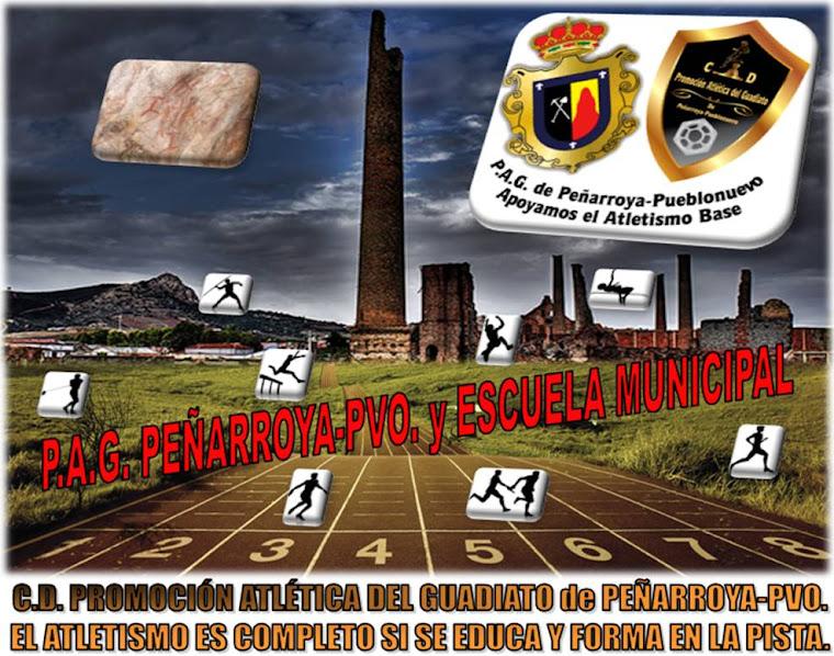 P.A.G. PEÑARROYA-PVO. ATLETISMO (Promoción Atlética del Guadiato)