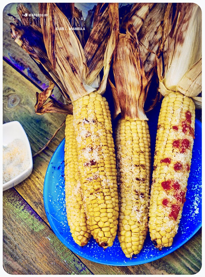 Confessions of a foodie mexican style grilled corn on the cob brining brings out corns natural sweetness while the post grilling addition of queso cotija and tapato gives it a mexican spin ccuart Gallery