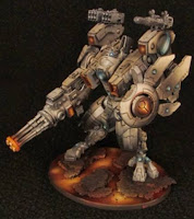Armadura de Combate XV104 Cataclismo del Imperio Tau