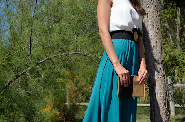vestido-boda-evento-dress-wedding-look-outfit-blogger-blanco-verde-negro-dorado