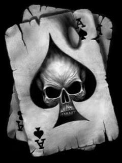 Skull cell phone wallpaper