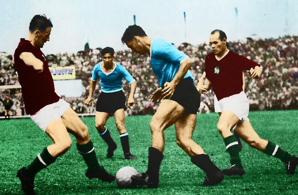 Selección Uruguaya de Fútbol Wc+1954+hungria+uruguay+a+todo+colorr456
