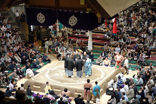 Sumo wrestling judges