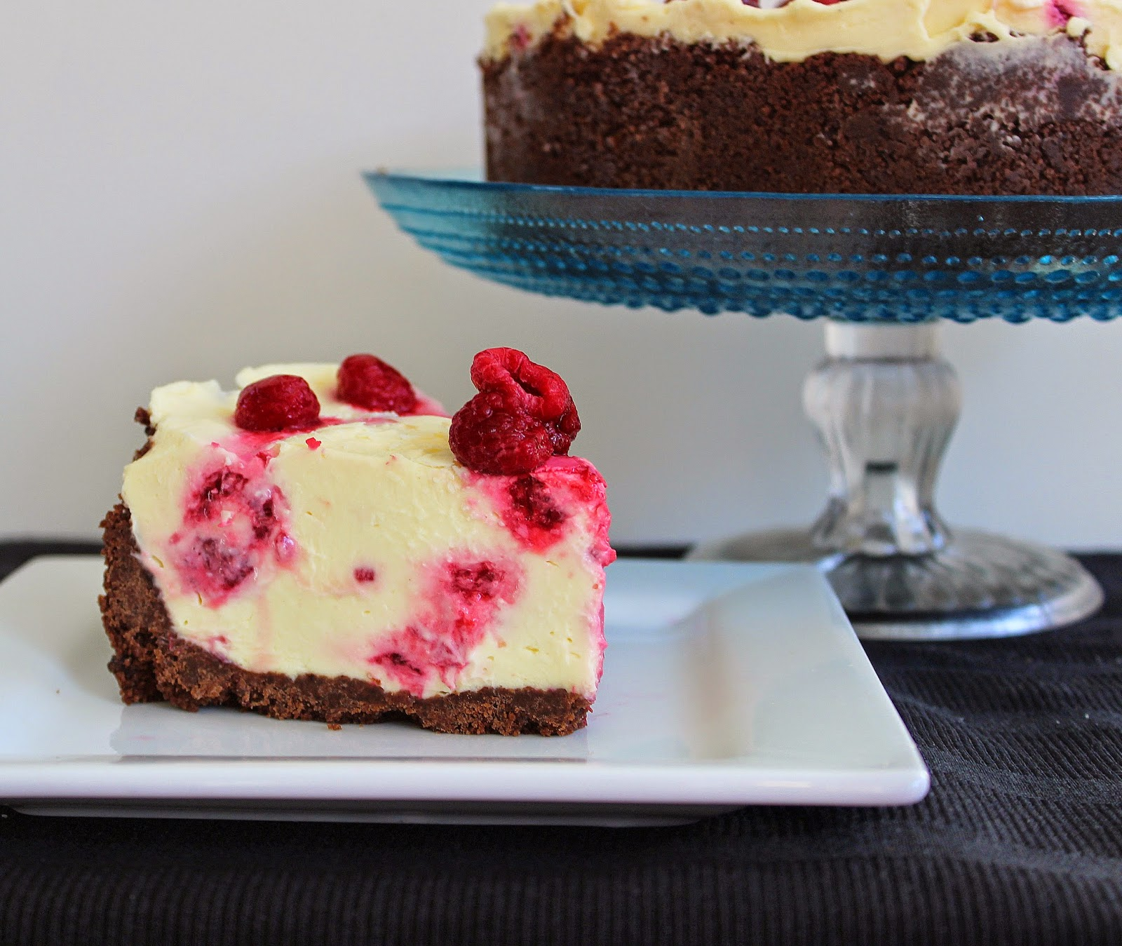 PicNic: Raspberry White Chocolate Cheesecake