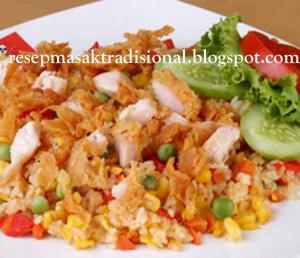 Resep Cara Membuat Nasi Goreng Pelangi