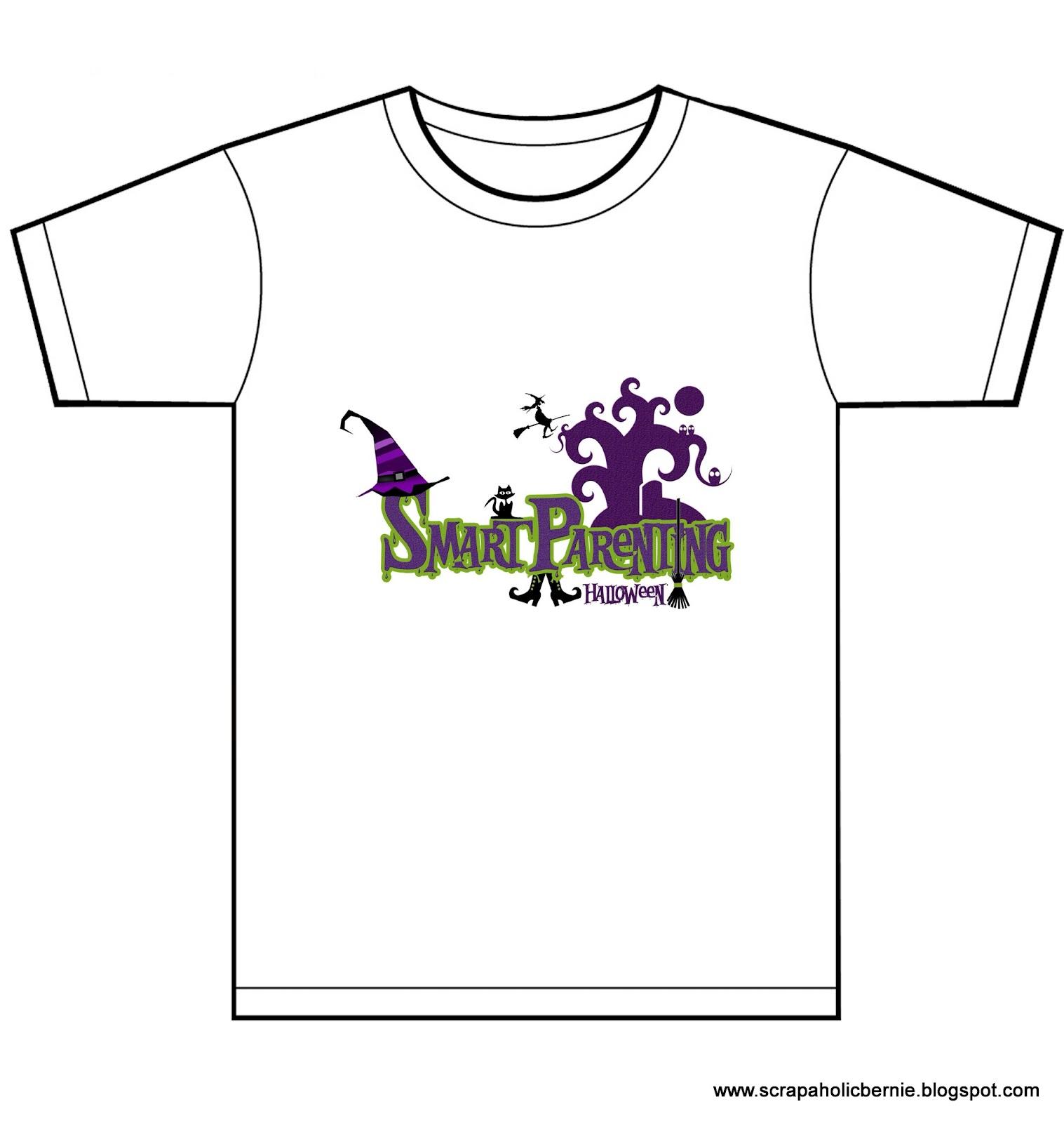 Shirt design layout - Smart Parenting Eb T Shirt Design In White