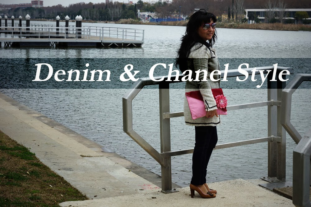 denim+chanel+style