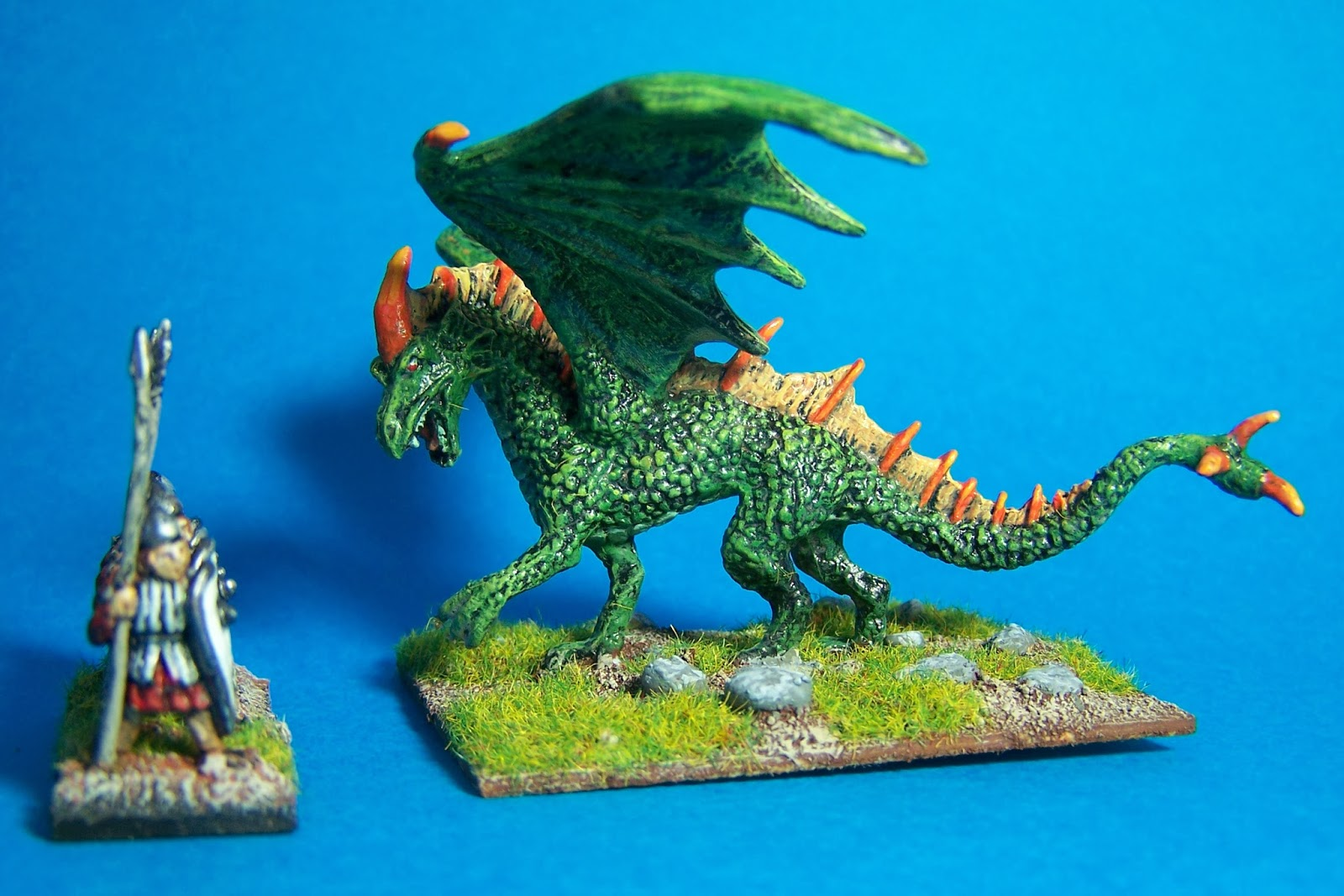 Ten and Fifteen Mil Wargames: Here There Be Dragons!