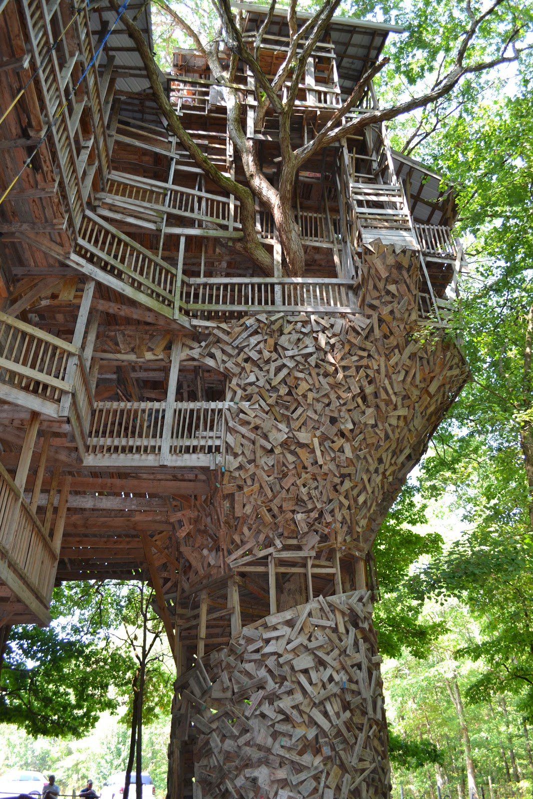 Biggest Treehouse In The World 2013