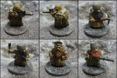 Hasslefree Miniatures Kolektiv Dwarves