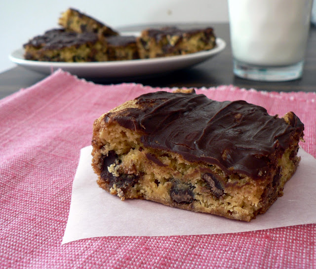 Cheater Chocolate Chip Cookie Bars recipe, cookie bars with a cake mix, cake mix cookie bars, cookie bar from cake mix, cake mix recipe