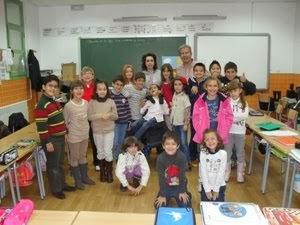 Sesión de poesía con Álvaro y su familia
