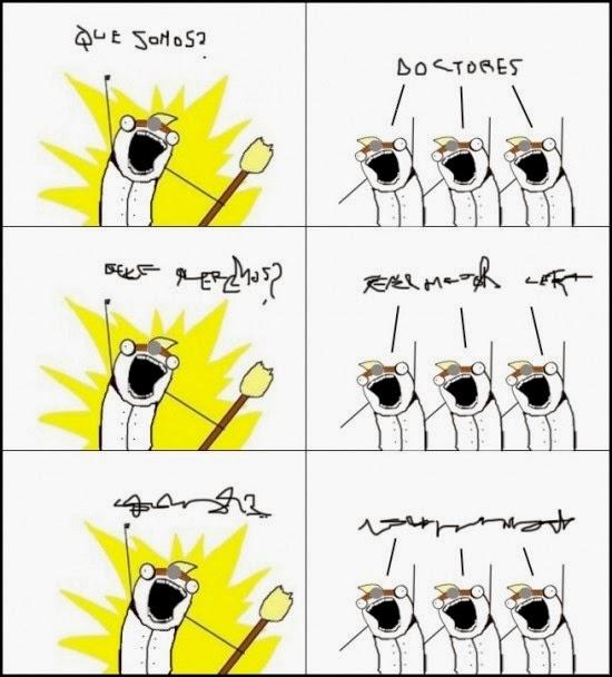 imagenes graciosas - ¿Que somos? Doctores