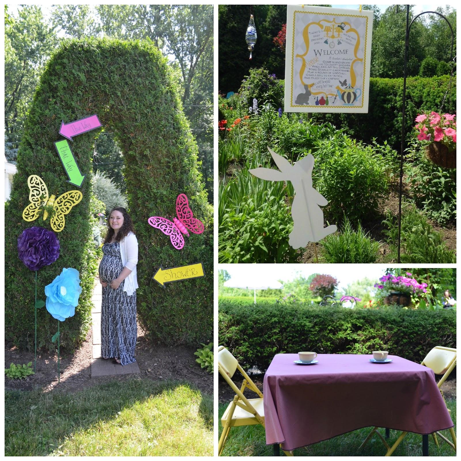 Something Beautiful: Baby Shower #2 - Alice in Wonderland Theme