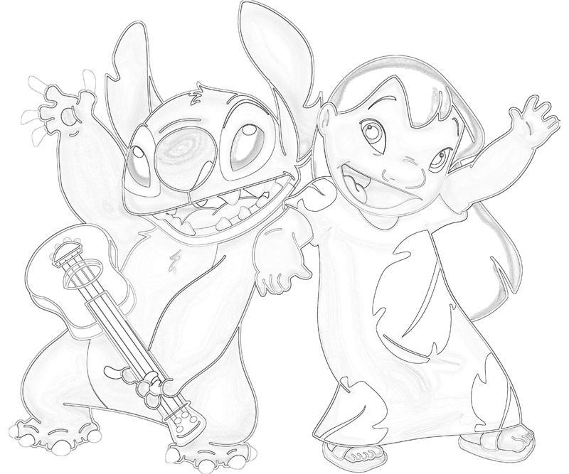 Lilo and Stitch Lilo Happy | Surfing