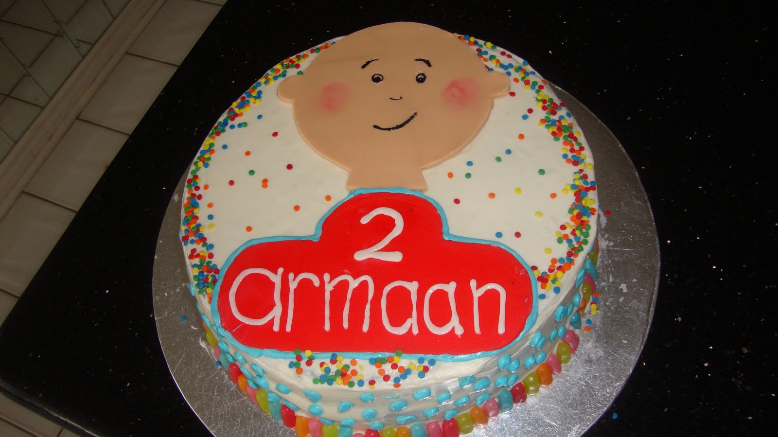 Scrumptious Sweets: A Caillou Cake for a boys 2nd Birthday party