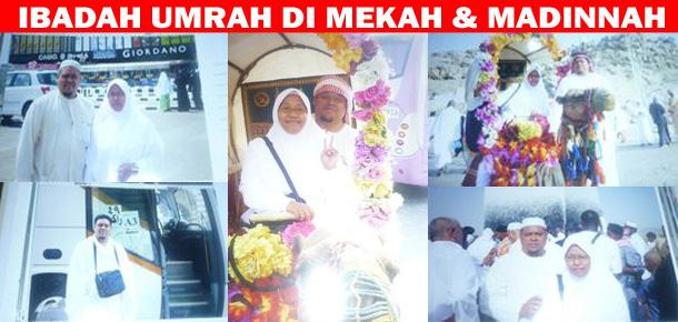 INSENTIF MENGERJAKAN IBADAH UMRAH DI MEKAH & MADINNAH