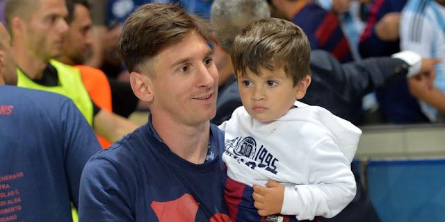 Lionel Messi est à nouveau papa