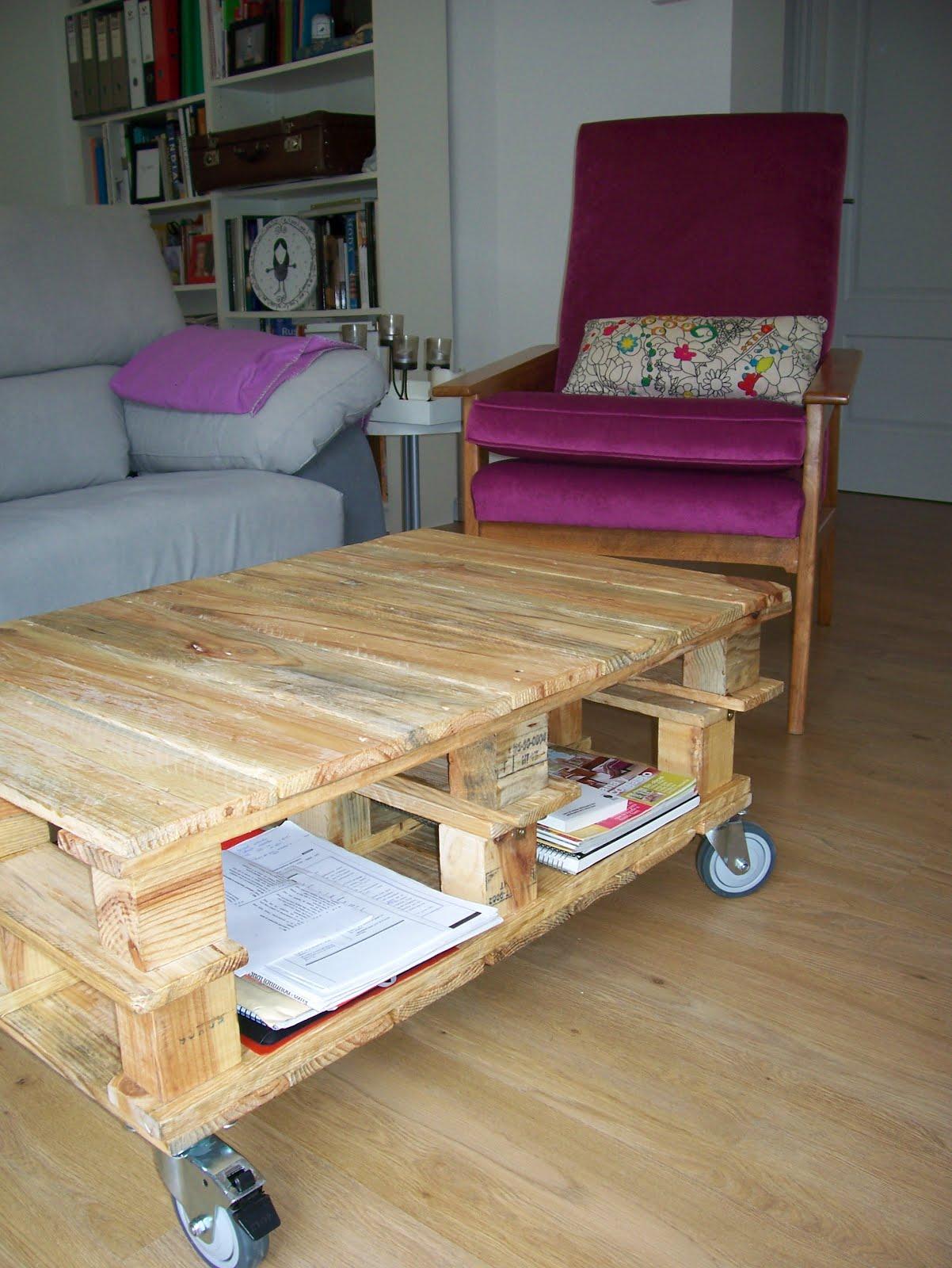 Chiribambola nuevo proyecto mesa de pallets con ruedas for Mesa palets ruedas