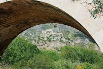 Puente i Castell de Perputxent. ( Vall de Perputxent)