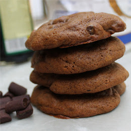 Orange Gingerbread and Chocolate Chunk