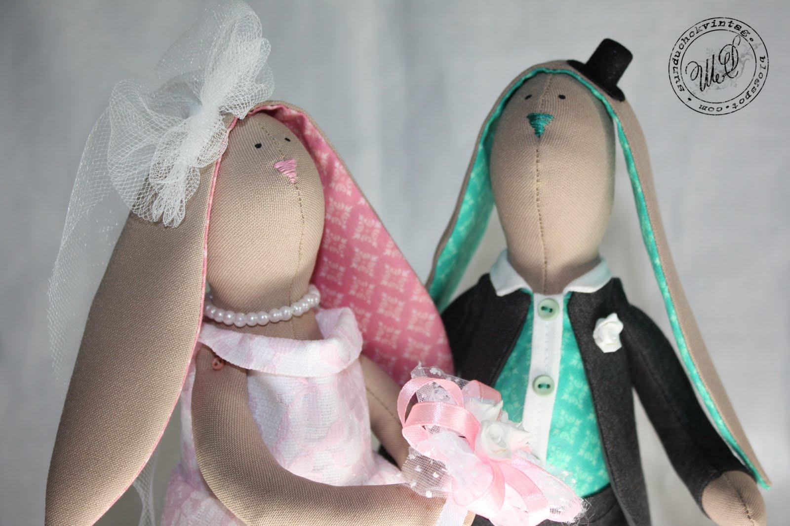 Свадебные зайчики своими руками сшить 30