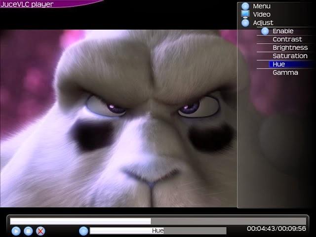 برنامج jucevlc لتشغيل الفيديوهات