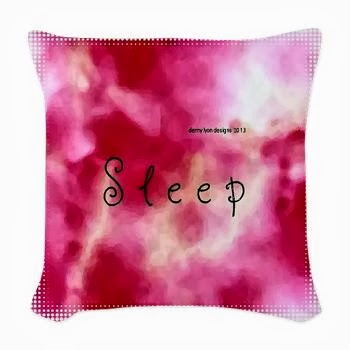 Dream Sleep Woven Throw Pillow