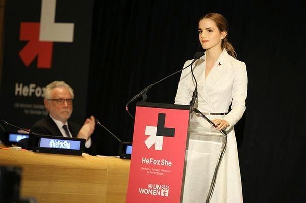 Discurso de Emma Watson, embajadora de buena voluntad de la ONU, 2014 para la campaña HeForShe | Ximinia